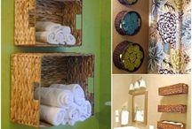 bathroom storage / by Leah Francis