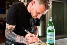 Off the Menu with San Pellegrino / Get inspired with Chef Michael Voltaggio #LiveOffTheMenu #Sanpellegrino - 09.01.2014 / by Monica Kim