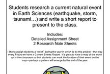 Secondary Science / Classroom  / by Tara O'Neill