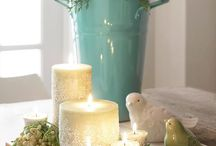 Decorating-Centerpieces / by Abby P Savant