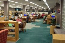 Bunch Library Spaces / Lots of room to study, meet your group, eat, or just hang out! / by Lila Bunch