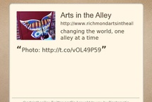 Arts in the Alley Stuff / by Arts in the Alley