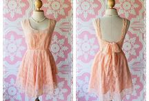 Coral Dresses / by Lauren Metts