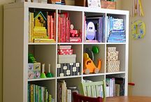 HOME - kid rooms / by Tawna Pippin