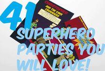 Super Heroes! / by Barbie Kelly