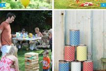 Outdoor party ideas / by Kat Alexander