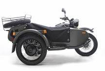 Ural Gear-Up / The Gear-Up is easily our most popular model. It combines familiar Ural aesthetics with the two-wheel drive capability for a truly rugged adventure motorcycle. / by Ural Motorcycles