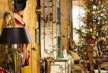 Log Home Holidays / Festive Homes! / by LogFinish.com