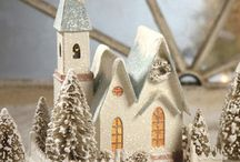 Christmas villages / by Judy Koch