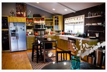 kitchens / by Pam Tipton