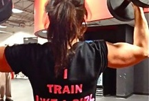 Train like a girl.  / Weight lifting inspiration / by Chelsea Pineda