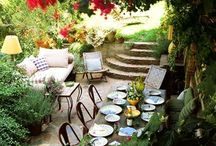 Dining Al Fresco / by The Happy Woman