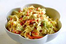 Salads/Coleslaw / by Gwendolyn Shephard