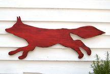 foxy stuff / some of my favorite foxy stuff ... the animal, that is / by keri bassett {shaken together}