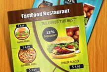 Restaurant Menu / Design menu food retail / by LeMaksim