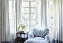 window treatment ideas / by Sabrina and Todd Farber