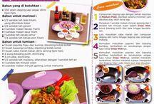 Resep Masakan / by Twin Tulipware