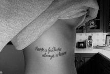 Tattoos <3 / by Chantal Bailey