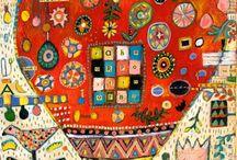 outsiders: folk art-hobos-tramp art... / by Lisa Fields Clark