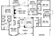 House plans / by Kathleen Collins