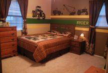 Jevin's own room!! / by Jenna Guralski