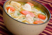 Soups / by Evelyn