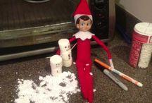 Elf on a shelf / by Davena Goodman