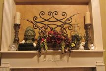 Mantles...Seasonal/Everyday Decorated / by Rob Booth