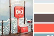 Guest Bath / Color schemes for guest barh / by Karen Moran