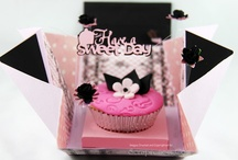 CUPCAKE/ GIFT PACKAGING / Collection of unique and modern gift packaging ideas!  / by Jinky Kowalski