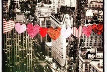 Valentine's Day / You've got my heart on a string: colorful paper heart garlands that make a bold visual statement! / by The Odd Broad