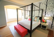 Bedrooms / by Allison Templeton