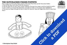 Activity sheets / Downloadable activity sheets in PDF format. / by Birmingham Royal Ballet