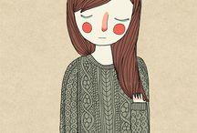 Ilustracion / by angelesflor accesorios