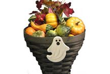 Halloween Baskets by Peterboro Basket Co. / http://www.peterborobasket.com/c-62-halloween.aspx / by Peterboro Basket Company