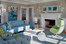 Fireplace ideas / by Jessica Crowley Howard