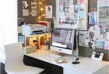 Dreamy work spaces / by mandimadeit