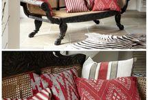 Fabrics / by Heart Home magazine