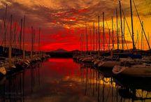 Sights at dawn or dusk / by Aki Kanamori
