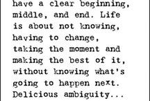 words of wisdom / by Dana Ishum