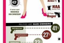 girls <3 guns / by Ashley Duesler