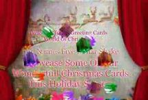 Christmas Greeting Cards Video - From UK Greeting Cards / Here is our Christmas Showcase of our stunning Christmas greeting cards video you can purchase any of these stunning value holiday cards from us at www.ukgreetingcards.co.uk / by Handmade Greeting Cards Online UK
