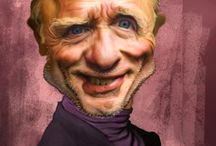 Caricatures / Everyone welcome, please feel free to pin as many pics as you wish NO limits, enjoy! / by Sheri Brintzenhoff