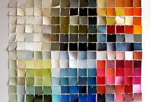 """I'll be """"borrowing"""" paint chips! / by Button Bird Designs"""