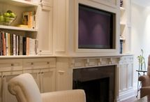 tv room  / by Lisa Buber