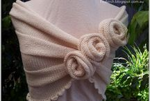 Knitted scarves, shawls / by Jayme Muncie