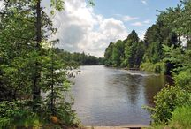 St. Germain Area Lakes & Rivers / St. Germain boasts some of the cleanest water on the planet, making it an ideal destination for swimming, fishing, watersports and aquatic recreation.  / by St. Germain Area Chamber of Commerce, Inc.