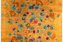 Love of old rugs:Oriental, Persian, Indian, Kilim, stories are woven by hand in the silk and wool / by Debbie Sheegog