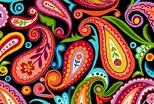 Patterns, Fabric, Designs / by Beth Betts Mallory