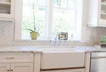 kitchen / by Jennifer Mathis (Ellison Lane: Modern Sewing & Design)